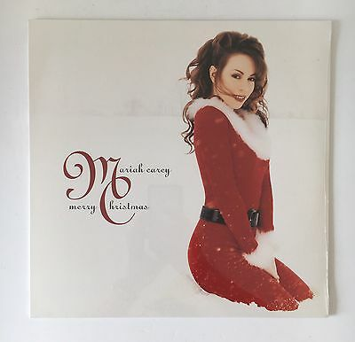 Mariah Carey Merry Christmas Red Vinyl Lp Mint New & Sealed