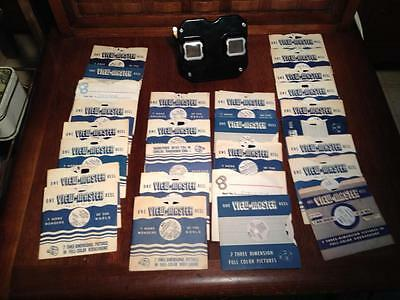 Sawyers Bakelite view master and large slide collection,Rtro,Kitsch,Vintage