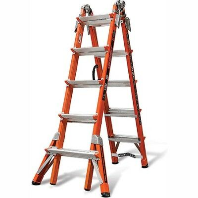 NEW! Fiberglass Conquest Multi-Use Extension Ladder, 22' Type 1A!!