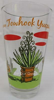 Disney Parks Cars Radiator Springs Towhook Yucca Glass Cup Tumbler New