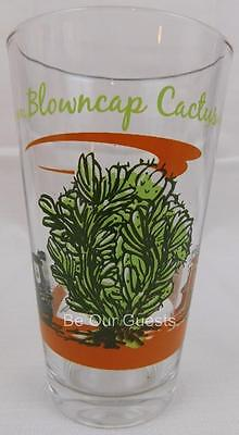 Disney Parks Cars Radiator Springs Blowncap Cactus Glass Cup Tumbler New