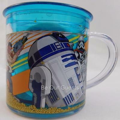 Disney Store Star Wars The Force Awakens Funfill Cup Mug Plastic New 6 oz.