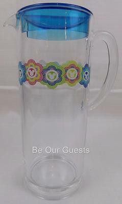 Disney Parks Color Fusion Vibrant Royal Mickey Icon Plastic Pitcher New