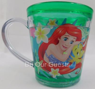 Disney Store Ariel Little Mermaid Funfill Cup Mug New 6 oz. Meal Time Magic