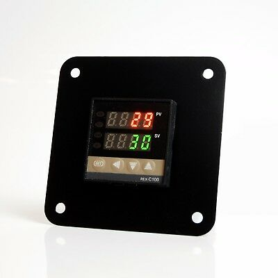 PID Bracket 1/4 1/8 1/16 1/32 Mounted DIN Panel Temperature Controller Holder