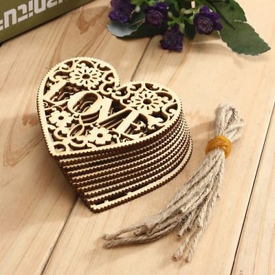 Hollow Hanging Ornament Wood Embellishment Home Decor Embellishments Wedding