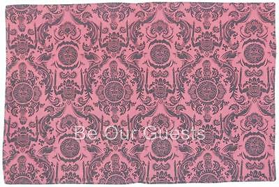 Disney Theme Park Haunted Mansion Wallpaper Reversible Placemat Red New