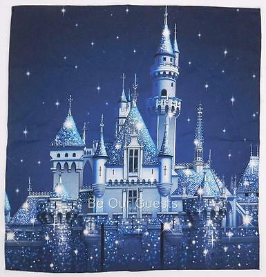 Disneyland 60th Diamond Celebration Cloth Dinner Napkin New Disney Castle