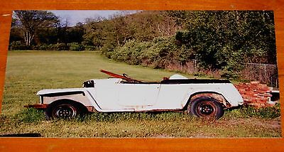 Photo Vintage 50S Jeepster Convertible In Upstate Ny 2002 - 1950 1951 1952 Jeep