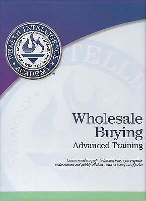 Russ Whitney's Wholesale Buying Advanced Training Series Printable Manual Cdrom