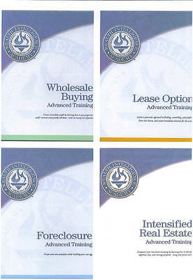 Russ Whitney's Intensified Real Estate Training Cdrom W/ Four Printable Manuals