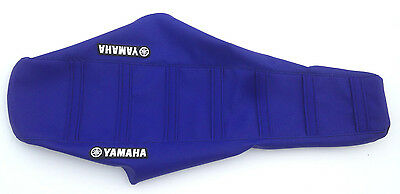 New Yamaha Blue Ribbed Seat Cover TTR125 2000-07