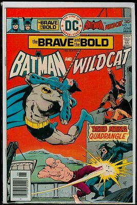DC Comics The BRAVE And The BOLD #127 BATMAN And Wildcat VFN 8.0
