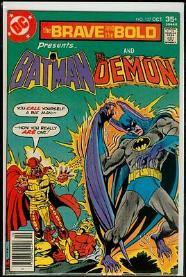DC Comics The BRAVE And The BOLD #137 BATMAN And The Demon NM 9.4