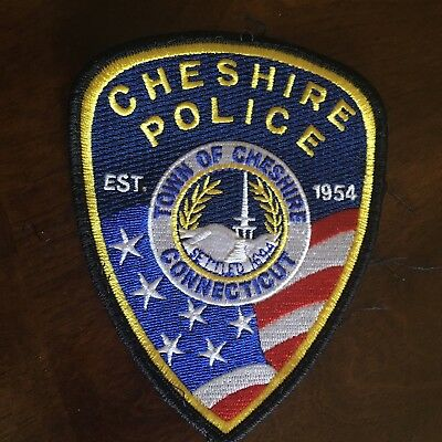 Cheshire Police Patch Connecticut