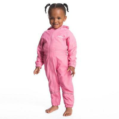 Peter Storm Infants' Fleece Lined Waterproof Suit Outdoor Clothing Pink