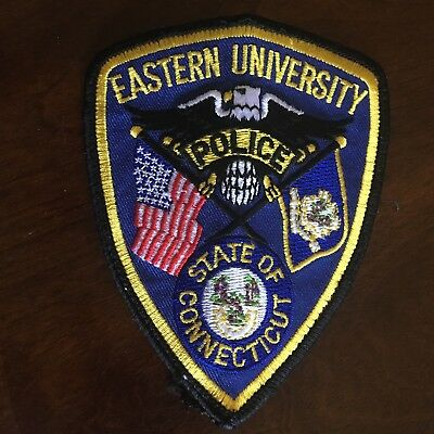 Eastern University Police Patch Connecticut