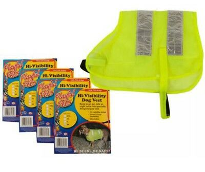 Hi Viz High Vis Dog Vest coat reflective dog puppy safety gift present
