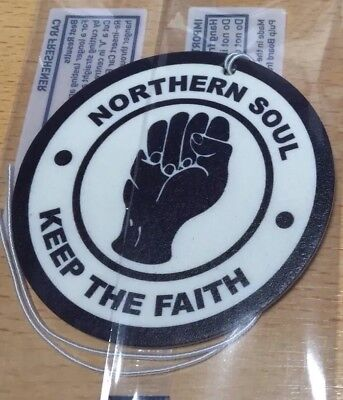 Northern Soul Gift Air Freshener - Mod Car Tree