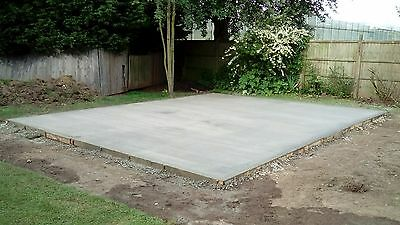 Concrete Bases For Sectional Garages ( New Concrete Garages Also For Sale)