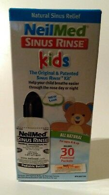 NeilMed Sinus Rinse Kids All Natural 30 Premixed Packets Exp 05/18 NEW SEALED