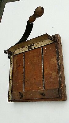 """Vintage Office Guillotine The """"gladiator"""".good Working Order."""