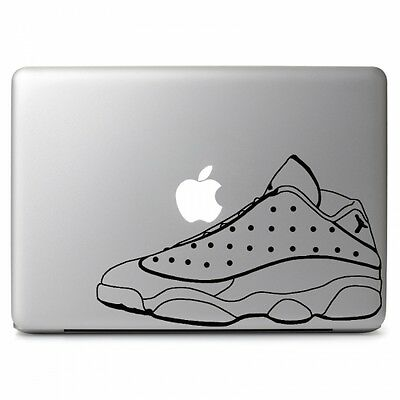 "Air Jordan 13 Retro Shoes Decal Sticker Skin for Macbook Air & Pro 13"" 15"" 17"""