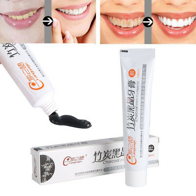 Active Bamboo Charcoal Toothpaste Cleaning Hygiene Oral Care Whitening Paste New