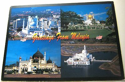 Malaysia Greetings Mosques - posted