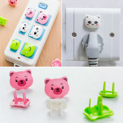 6Pcs Socket Baby Safety Plug Cover Outlet Protective Lock Power Child Protection