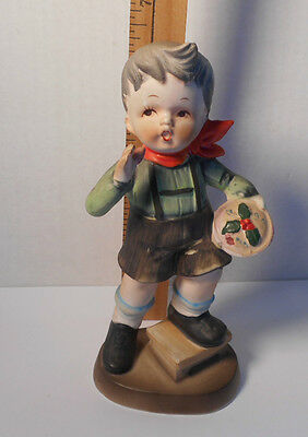 "Vintage ""Little Jack Horner Sat In A Corner"" Porcelain Figurine   Retired"