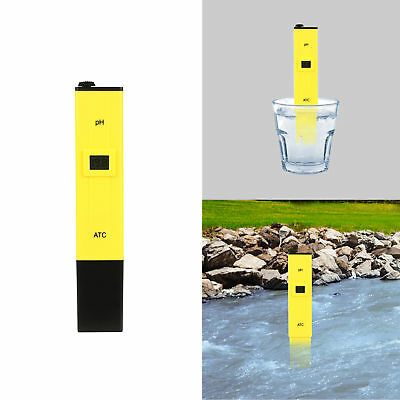 Pocket Protable Digital PH Meter Tester Aquarium Pool Hydroponic Water Monitor