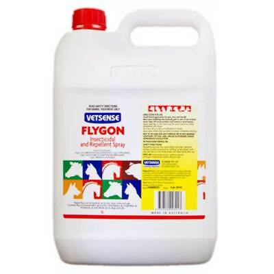 Vetsense Flygon Horse, Dog Cattle Pet Insect & Fly Repellent Spray 5 Litre