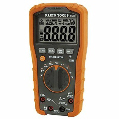 Klein Tools MM600 Auto-Ranging 1000V Digital Multimeter Multimeters Electric