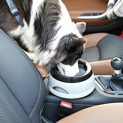 Road Refresher Non Spill Dog Puppy Pet Travel Water Bowl Small/large Free Post #