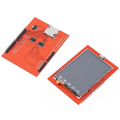"2.4"" TFT LCD Display Shield Touch Panel Module 240×320 For Arduino UNO Vogue Pro"