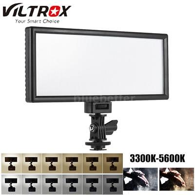 Viltrox L132T Slim LED Studio Video Light LCD Bi-Color Dimmable for Nikon Camera