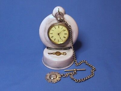 Antique effect Ceramic Pocket watch stand watch display stand for vintage watch