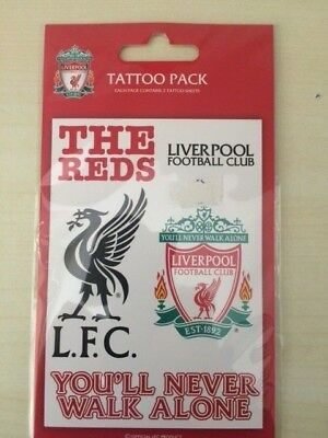 Liverpool F.c. Official Tattoo Pack