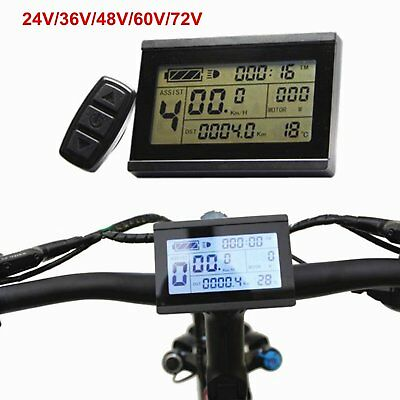 24-48V Risunmotor LCD3 Display Meter/Control Panel For e-Bike Electric Bicycle