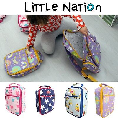 Little Nation Kids Insulated Lunch Box Cooler Bag. School. Fits Our Bento Box.