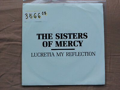 7'' Promo The Sisters Of Mercy - Lucretia My Reflection - Wea Spain 1987 Vg/vg+