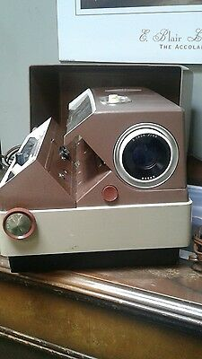 Vintage Anscomatic Jn 276 Projector Works Great