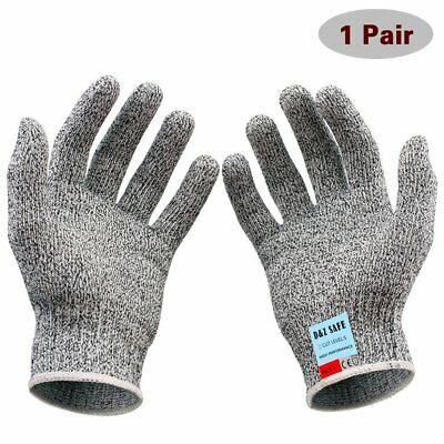 Cut Proof Resistant Stainless Steel Metal Mesh Level 5 Food Grade Butcher Gloves