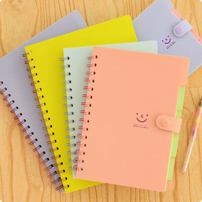 32k Beautiful Coil Notebook Memo Pad Diary Ruled School Student Stationery Pro.