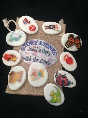 Story Stones - Story telling and vocabulary building. Educational and fun.
