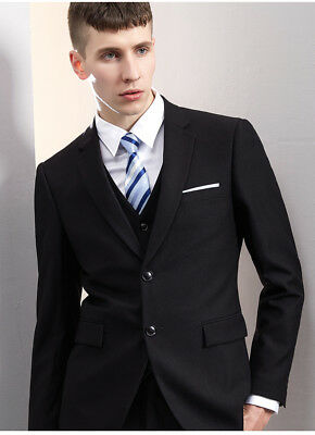 Regular Two Button Tuxedo Men 3 Pieces Formal Suits Tailored Suits Wedding Suits
