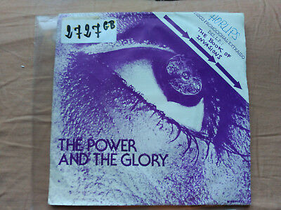 Promo Single Sided Horslips - The Power And The Glory - Djm Spain 1977 Vg/nm