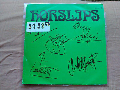 Single Promo Horslips - Loneliness - Djm Spain 1979 Vg/nm