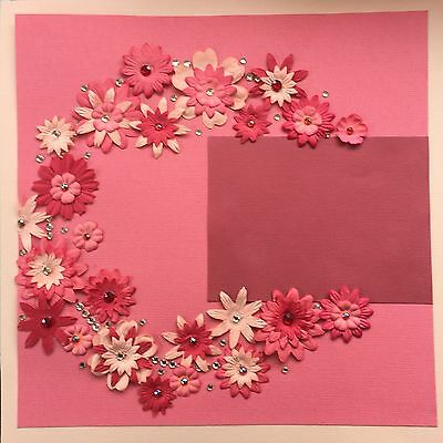 """PRE-MADE SCRAPBOOKING PAGE - 12"""" x 12"""""""